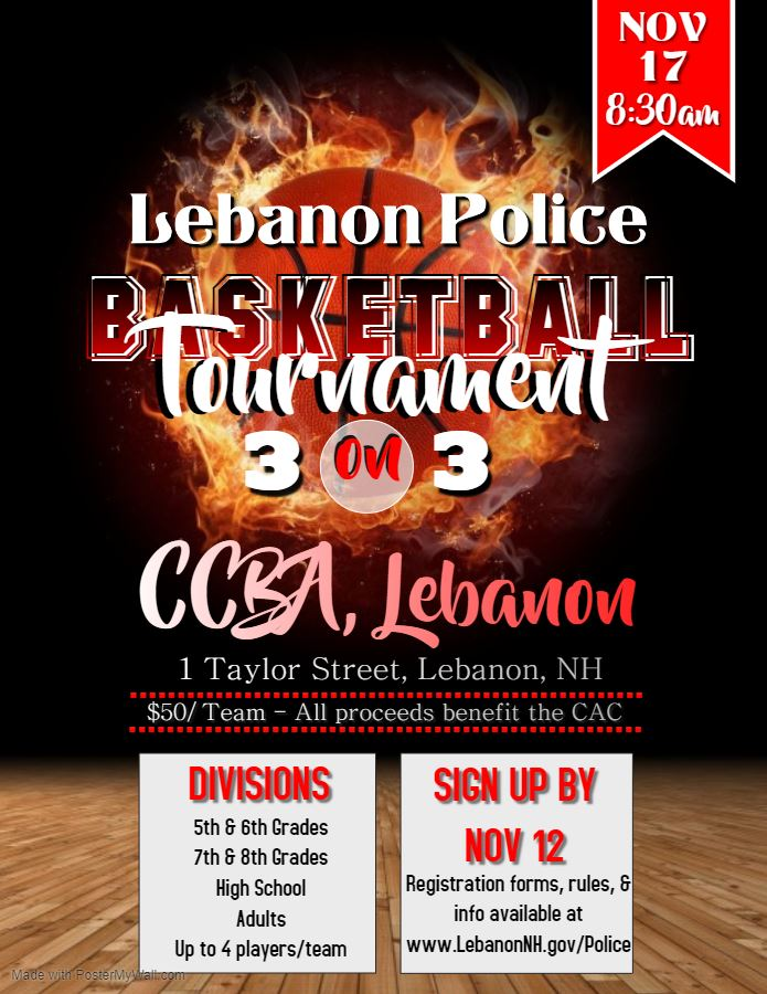 Basketball Tournament Poster 2019