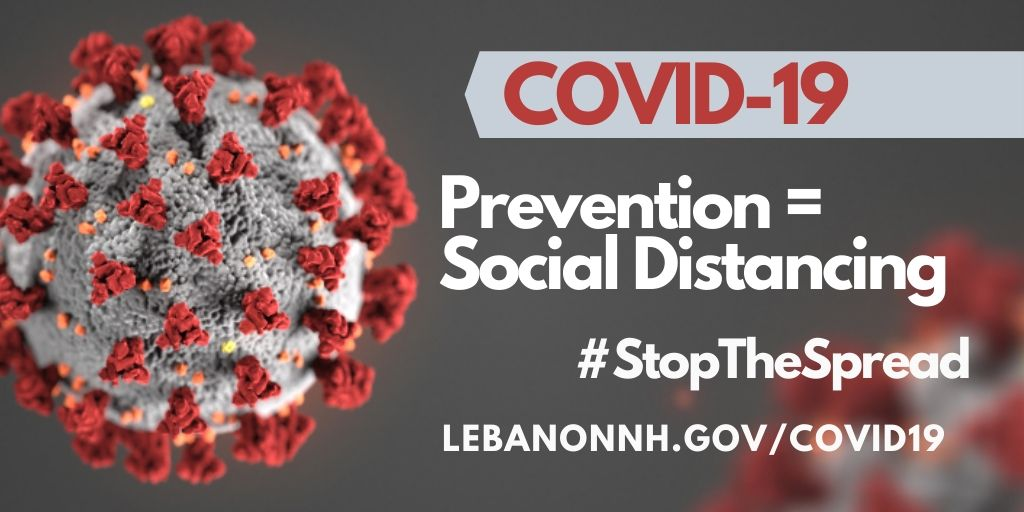 Prevention = Social Distancing  #StoptheSpread
