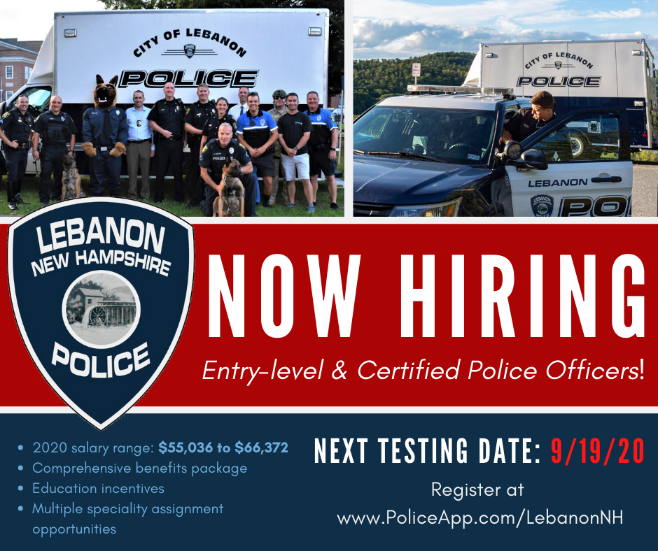 NOW HIRING with Sept Test Date