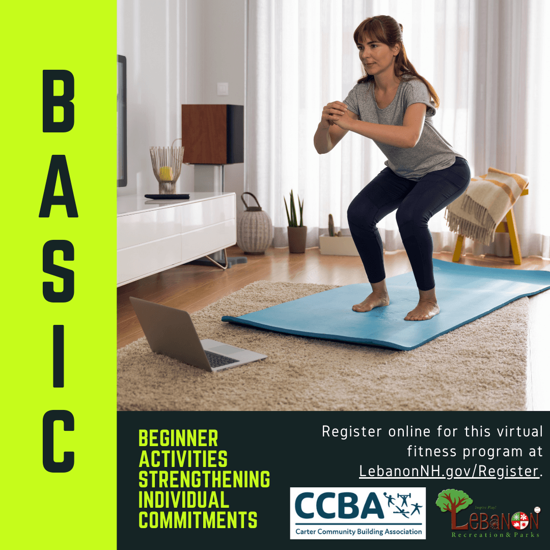 BASIC: Beginner Activities Strengthening Individual Commitments virtual fitness for adults