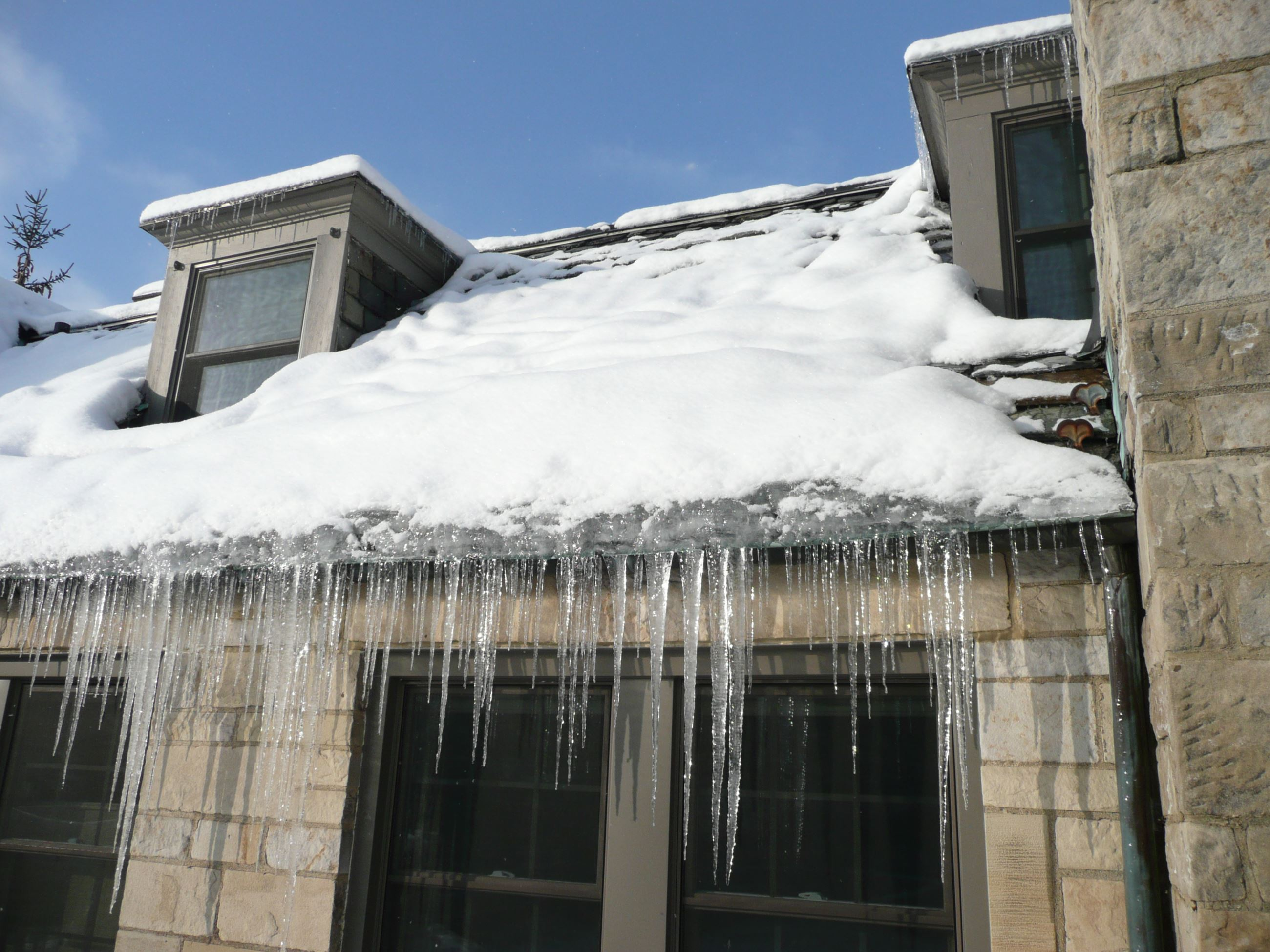 Ice Snow Roof