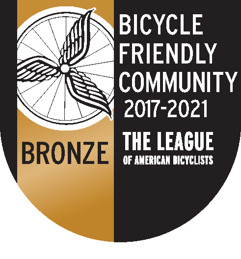 Bicycle Friendly Community 2017 Bronze Seal