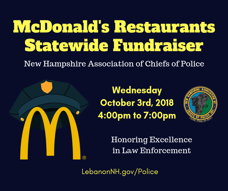 McDonalds Fundraiser Graphic