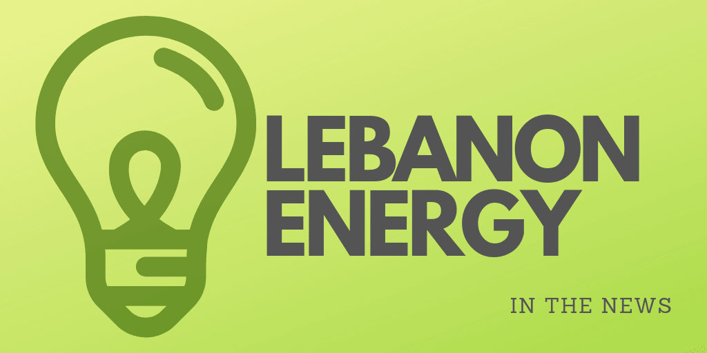 Lebanon Energy in the News logo