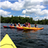 Teen Kayaking - Grafton Pond