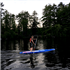In the Wilderness - Stand up Paddle Boarding
