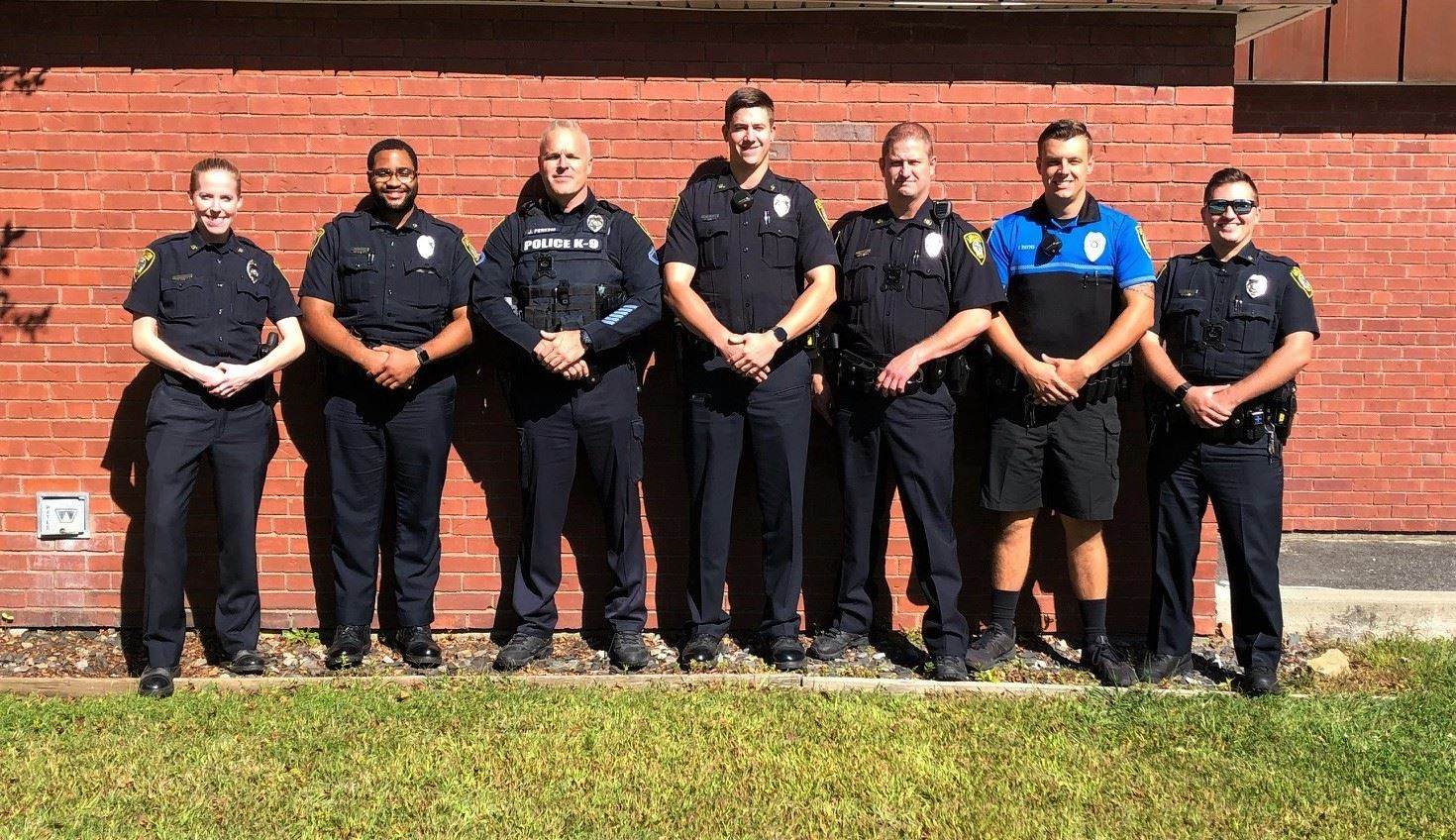 Group photo of Lebanon Officers who completed the most recent CIT Training